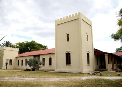 "The ""Alte Fort Museum"" in Grootfontein.  Photo: Sven-Eric Stender"