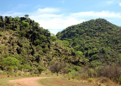 "Picturesque ""Tiger Gorge"" (obsolete Afrikaans ""tier"" = leopard) south of Ghaub in the Otavi Mountains.  Photo: Sven-Eric Stender"